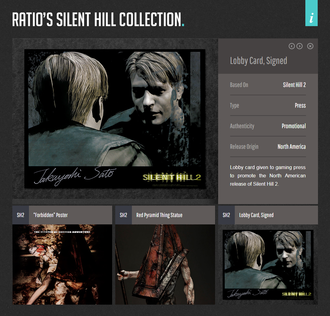 Ratio's Silent Hill Collection