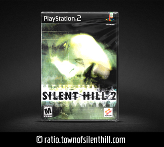 Silent Hill 2 (PS2) (NA), Sealed