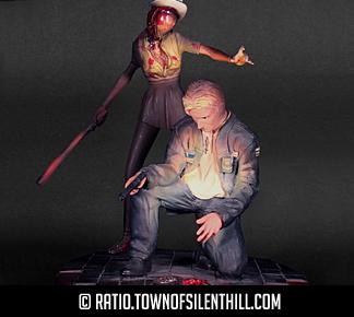 James & Nurse Statue