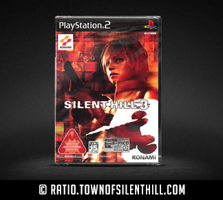 Silent Hill 3 Special Edition (PS2) (JP), Sealed