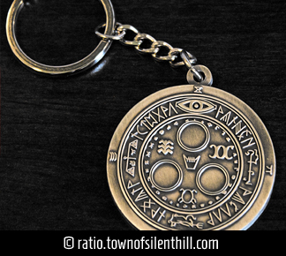 """Halo of the Sun"" Keychain"
